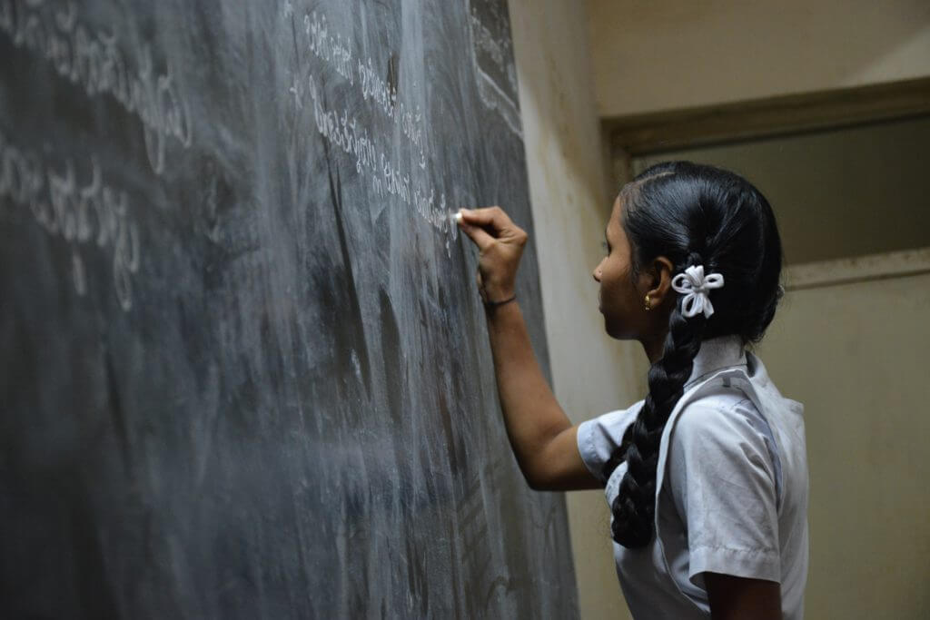 Onderwijs project India