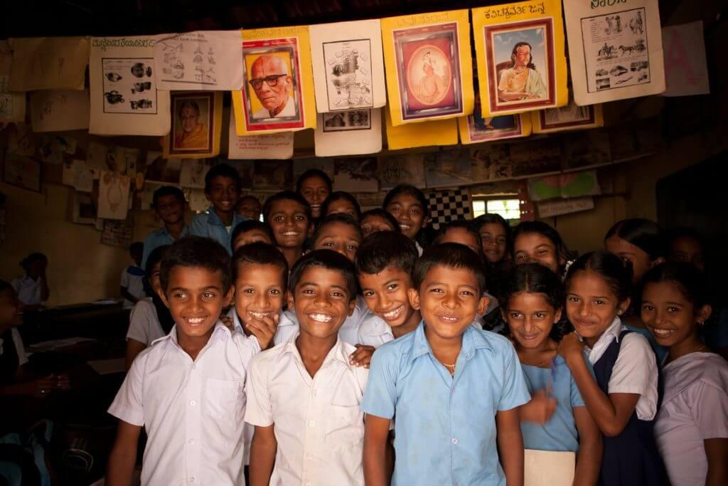 Indische kinderen school
