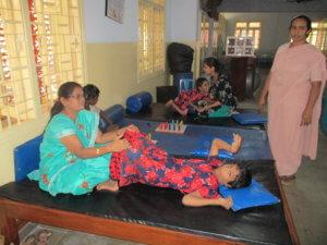 therapie aan kinderen met een beperking